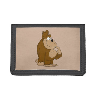 Cue gorilla tri-fold wallets