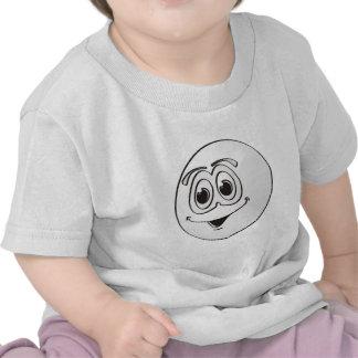 Cue Pool Ball Cartoon Tee Shirt