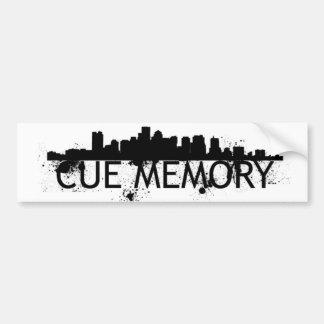 Cue-The-City Bumper Sticker