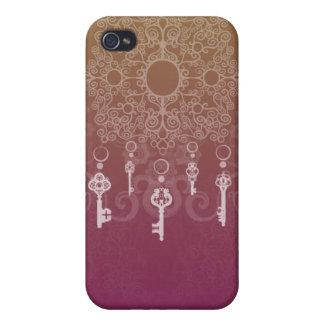 Cuelgue las llaves iPhone 4/4S carcasas