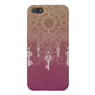 Cuelgue las llaves iPhone 5 carcasa