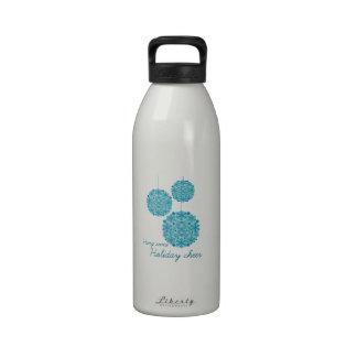 Cuelgue una cierta alegría del día de fiesta botella de agua