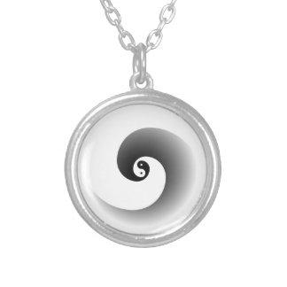 Cuello 3 del zen colgante redondo