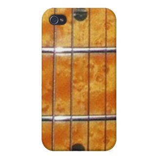 Cuello de la guitarra del arce para el iPhone iPhone 4 Cárcasa