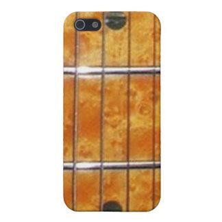 Cuello de la guitarra del arce para el iPhone iPhone 5 Carcasa