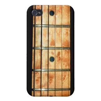 Cuello de la guitarra del arce para el iPhone seis iPhone 4 Carcasa