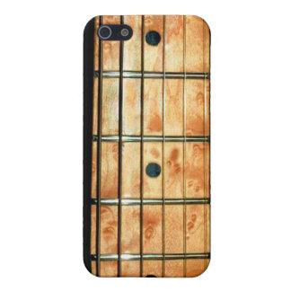 Cuello de la guitarra del arce para el iPhone seis iPhone 5 Carcasas