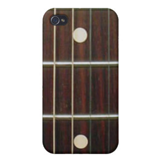 Cuello de la guitarra del palo de rosa para el iPh iPhone 4 Carcasa