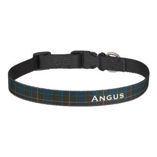 Cuello de perro de encargo clásico de la tela collar para perro