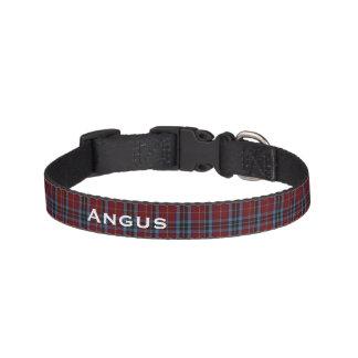 Cuello de perro de encargo clásico de la tela collares para perros