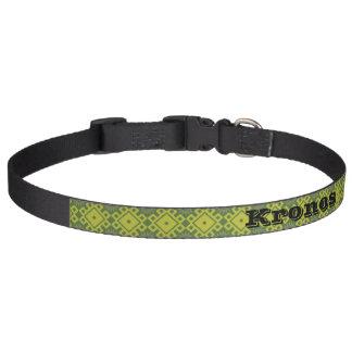 Cuello de perro de encargo de los asteres collares de perro