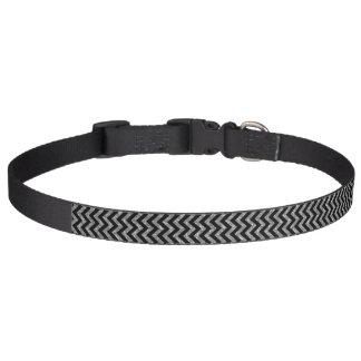 Cuello de perro del brillo de Chevron Collares Para Perros