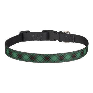 Cuello de perro del tartán del distrito del Fife