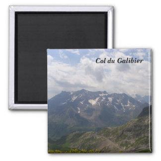 Cuello del Galibier Imán Cuadrado