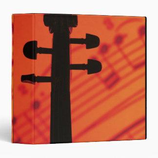 """Cuello del violín carpeta 1 1/2"""""""
