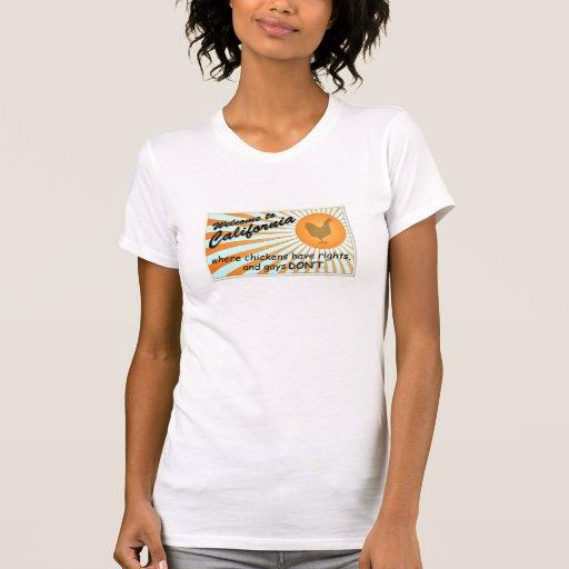 Cuello en v cabido señoras iguales de las derechas t-shirts