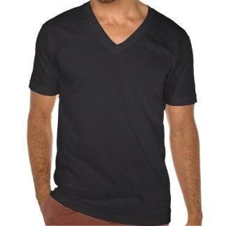 Cuello en v negro de la nación de Swoldier Camisetas