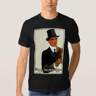 Cuellos y puños del camisetas de los caballeros playeras