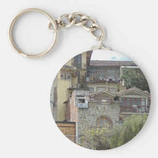 Cuenca-Barranco Neighborhood Keychain