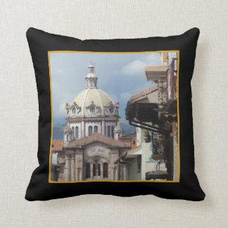 Cuenca Ecuador - Iglesia de San Blas Throw Pillow