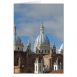Cuenca, Ecuador - New Cathedral Greeting Card