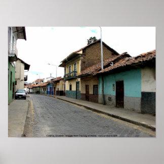 Cuenca, Ecuador Poster