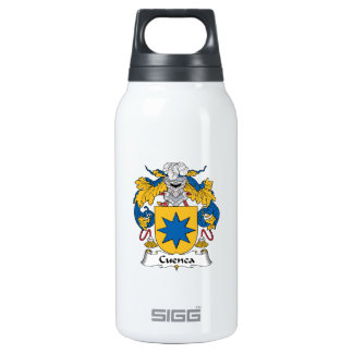Cuenca Family Crest Insulated Water Bottle