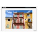 "Cuenca, Spain 15"" Laptop Decals"