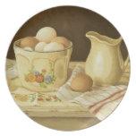 Cuenco 1175 de huevos y de jarra platos para fiestas