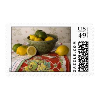 Cuenco 3728 de vida de los limones y todavía de sellos