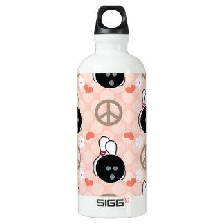 Cuenco BPA que rueda del amor de la paz libremente