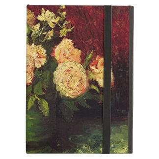 Cuenco con los Peonies y los rosas, Vincent van