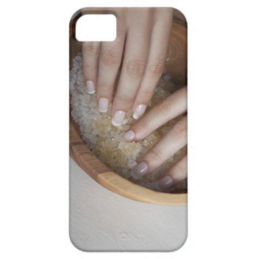 Cuenco conmovedor de la mujer de azúcar iPhone 5 cárcasa