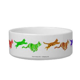 Cuenco corriente del mascota de 12 gatos tazon para gato