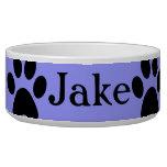 Cuenco de encargo del perro de Jake Comedero Para Mascota