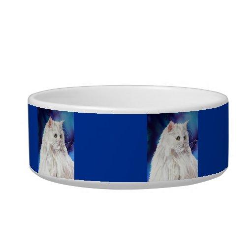 Cuenco de encargo personalizado del gato del tazones para comida para gato