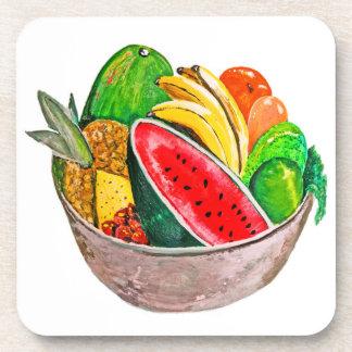 Cuenco de fruta posavaso