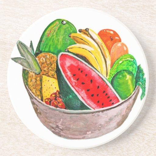 Cuenco de fruta posavasos manualidades