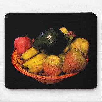 Cuenco de fruta alfombrilla de raton