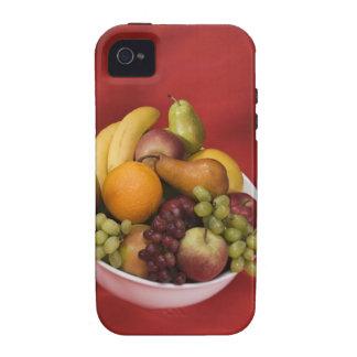 Cuenco de frutas frescas iPhone 4/4S carcasa
