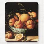 Cuenco de Louise Moillon de los naranjas de Alfombrilla De Ratón