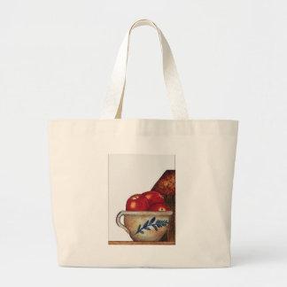 cuenco de manzanas bolsa