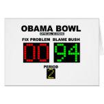 Cuenco de Obama - el anotar oficial Felicitaciones