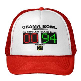 Cuenco de Obama - el anotar oficial Gorras De Camionero