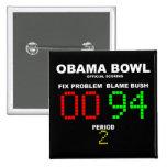 Cuenco de Obama - el anotar oficial Pins