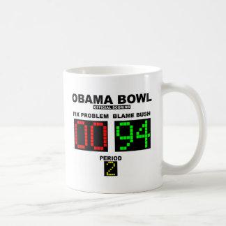 Cuenco de Obama - el anotar oficial Tazas De Café