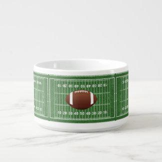 Cuenco de sopa del chile del diseño del campo de tazón