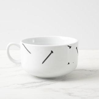 cuenco de sopa del clavo cuenco para sopa