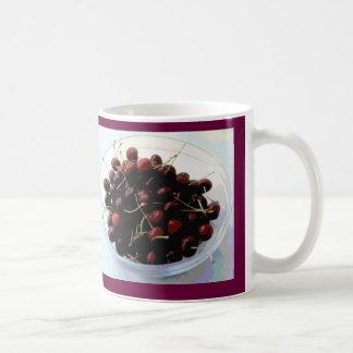 Cuenco de taza de las cerezas