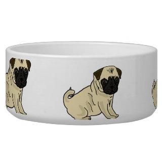 Cuenco del agua de los dibujos animados de los bar tazón para perro